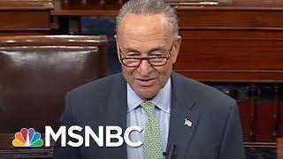 Sen. Chuck Schumer: Donald Trump Remarks On Obamacare Vote