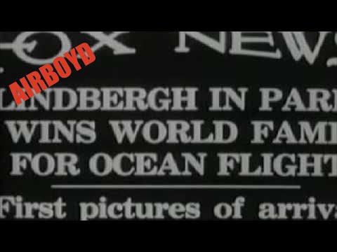 Charles Lindbergh Transatlantic Flight (1927)