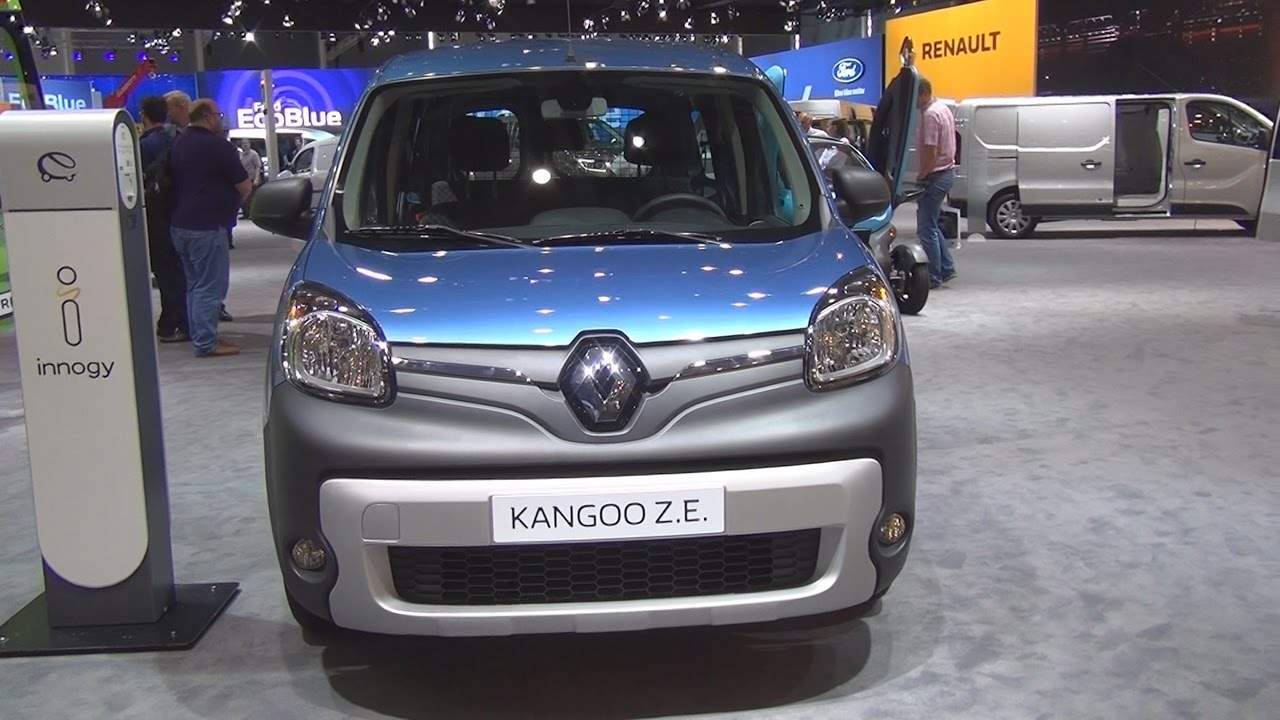 renault kangoo z e maxi 5 seats double cab 2017 exterior and interior in 3d youtube. Black Bedroom Furniture Sets. Home Design Ideas