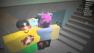 ROBLOX cool hiding spot on hide and seek!