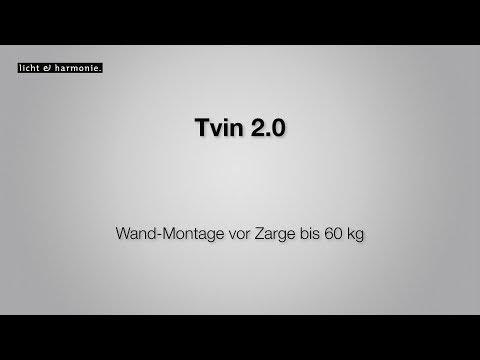 Tvin 2.0 Wand-Montage Vor Zarge Bis 60 Kg