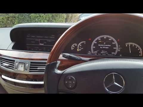 DS708 on a 2008 Mercedes S-class 320 V6 CDI (W221)