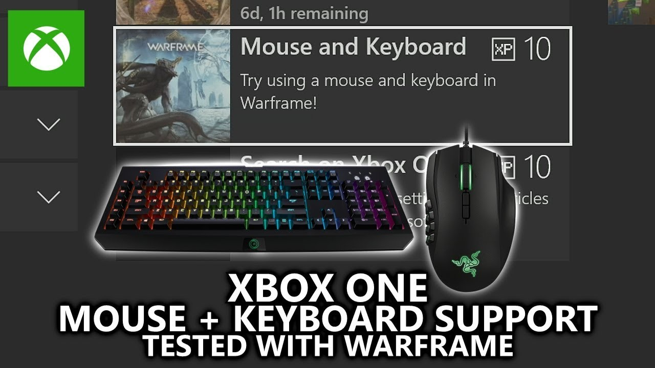 Xbox Mouse & Keyboard Support on Console - Tested with Warframe (New  Feature - Xbox Insider)