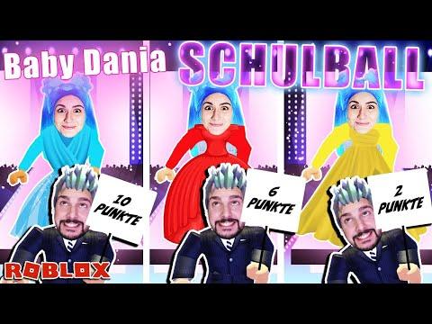 BABY DANIAS BALLKLEID! Papa Kaan bewertet ihre Outfits für den Schulball! [Roblox Deutsch]