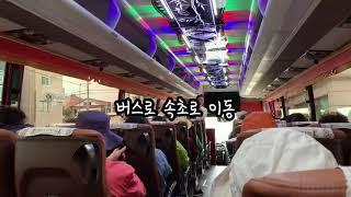 설악산국립공원*속초 기차여행