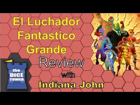El Luchador Fantastico Grande review - with John Richard
