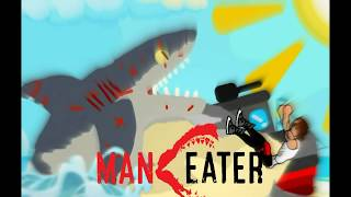 Maneater Official Song - Shark In The River Nightcore (with lyrics)