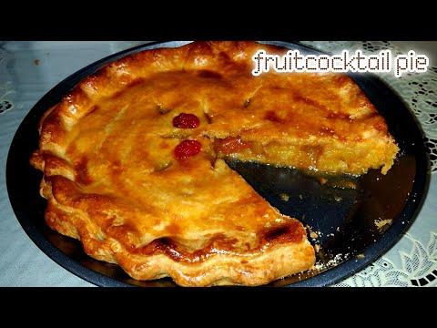 Fruit Cocktail Pie — Nakalista Ang Ingredients Sa Ubos
