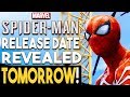 SPIDER MAN PS4 Release Date Revealed TOMORROW! GREAT PSN Store Sale NOW!