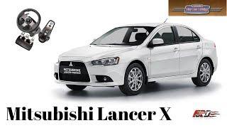 [ City Car Driving ] Mitsubishi Lancer X - тест драйв, обзор Logitech G27