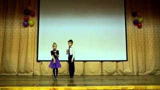 Филиппов Андрей и Хохлова Вера   6 лет, бальные танцы Буги Вуги