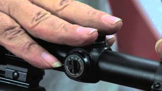 How to Adjust a Riḟle Scope