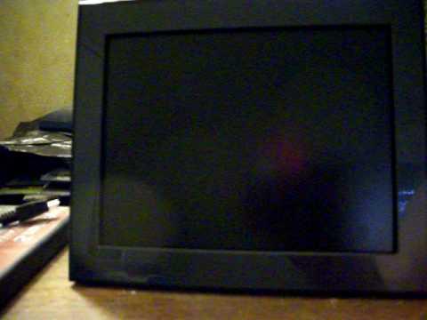 Kodak Easyshare P725 Digital Photo Frame Demonstration Youtube