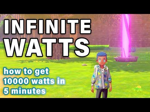 How To Get INFINITE WATTS | Reset Every DEN ► Pokemon Sword & Shield