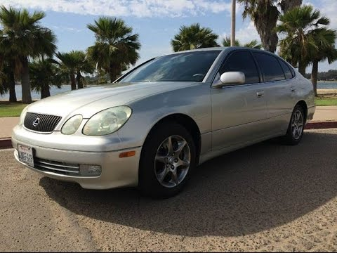 2001 lexus gs300 full walk around for sale silver on. Black Bedroom Furniture Sets. Home Design Ideas