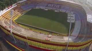 Toma Aérea Estadio Cuscatlan El Salvador