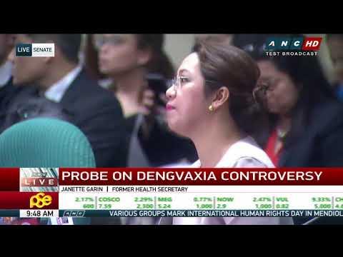 'Not a midnight deal': Garin denies corruption in dengue vaccine procurement