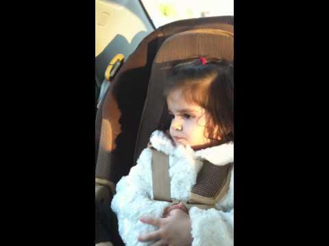 Funny Afghan baby girl arguing