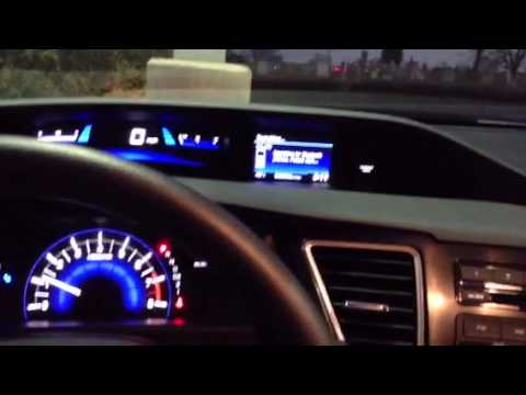 How To Pair Your Phone With Bluetooth On The 2013 Honda Civic Youtube