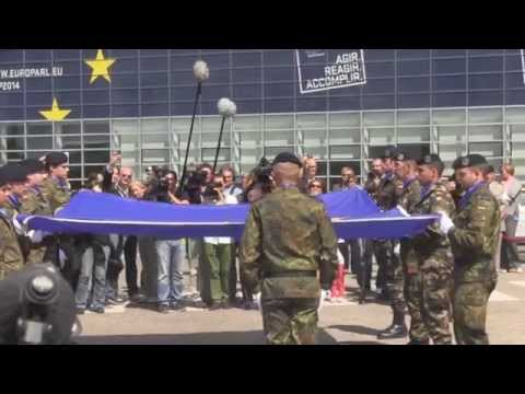 Naked EU Militarism on Parade - with short comment from Nigel Farage