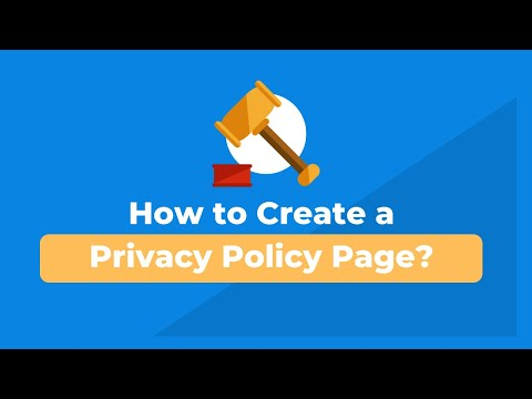 How to add a privacy policy in WordPress?