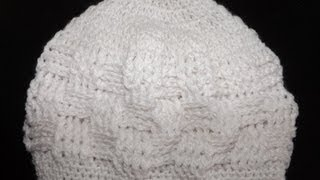 Repeat youtube video Crochet gorrito para bebé recien nacido - con Ruby Stedman