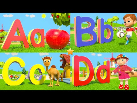 Learn Phonics Song  Kindergarten ABC Alphabets for Kids  Ba Nursery Rhymes  Little Treehouse