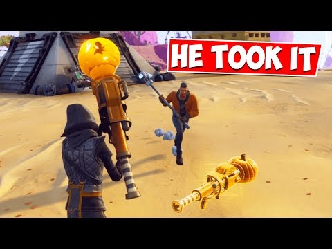 I Dropped my NATURE JACKO... But DIDNT EXPECT This to HAPPEN... Fortnite Save The World