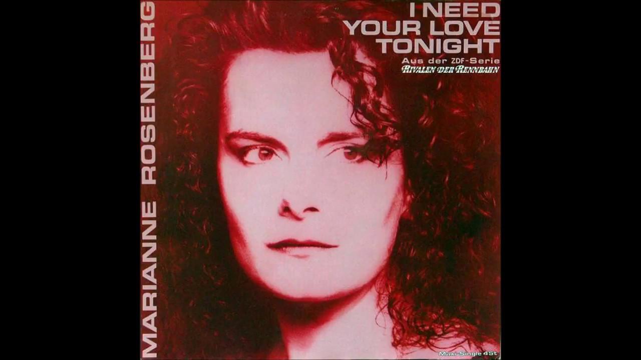 Marianne Rosenberg   20   I Need Your Love Tonight   Maxi Version