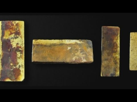 Treasure: $1.3 million worth of gold recovered from 1857 ship