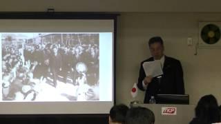 平成28(2016)年3月26日に東京・飯田橋で行った、第53回黒田裕樹の歴史...