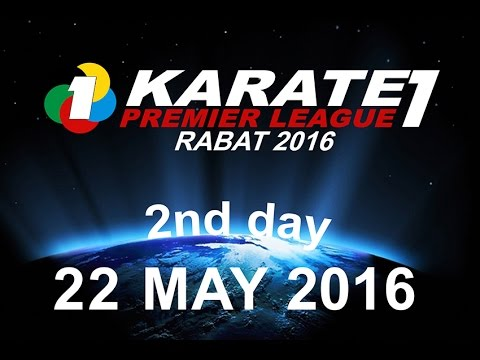 FRMK.TV : KARATE1 PREMIER LEAGUE RABAT 2016 (2nd Day) MOROCCO