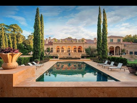 Intricate Palatial Chateau in Houston, Texas | Sotheby's International Realty