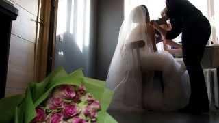 Невеста поет  жениху. До слез красиво
