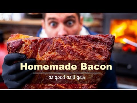 Homemade Bacon .. it doens't get any better than this