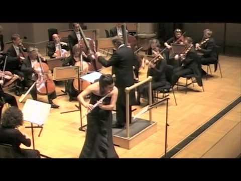 Myslivecek Flute Concerto. iii. Ana de la Vega, English Chamber Orchestra