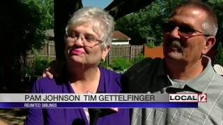 brother and sister meet for first time after 57 years apart