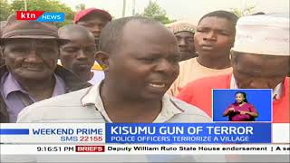Kisumu Gun of Terror: Locals accuse police of intimidation; A riffle & ammunition went missing
