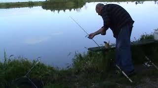 Рыбалка на озере в Архонке 6ИЮНЯ
