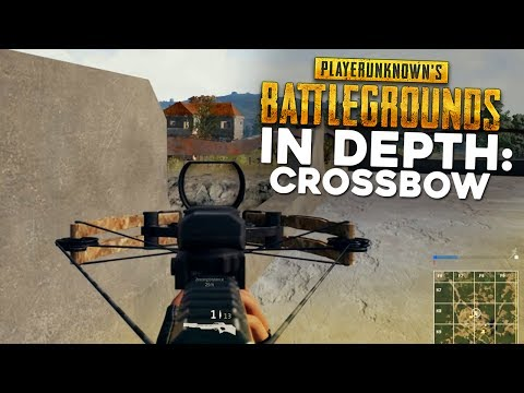 PUBG In Depth: Crossbow Guide (Damage, Range, & Drop Testing)