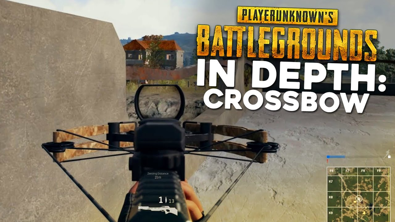 Pubg In Depth Crossbow Guide Damage Range Drop Testing Youtube
