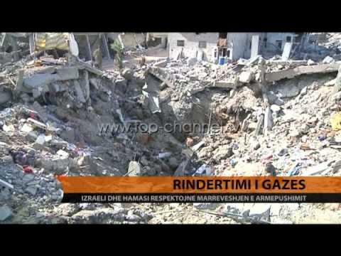 Marrëveshja për rindërtimin e Gazës - Top Channel Albania - News - Lajme