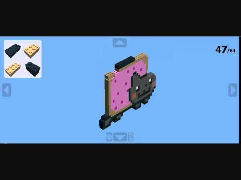 How To Make Nyan Cat In Minecraft Spongebob