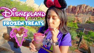 Tasty Disneyland Frozen Treats You Must Try For The Summer ! Disneyland 2019