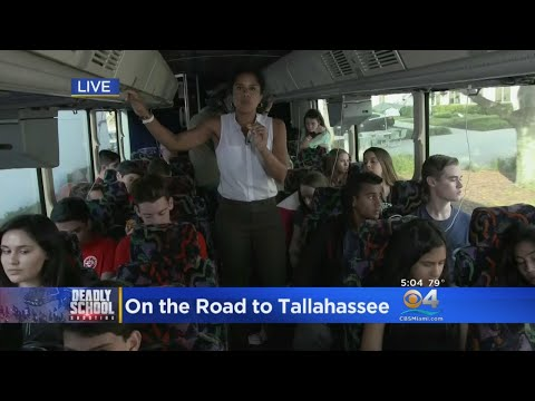 Inside The Bus Filled With Students Headed To Tallahassee