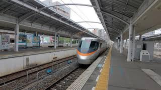 いしづち7号8000系 高松発車