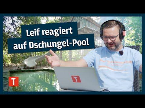 Leif Reagiert Auf Dschungelpool!