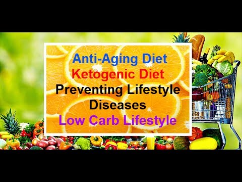 Ketogenic Diet | Anti-aging Diet | Low Carb Diet