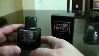 SEDUCTION IN BLACK by ANTONIO BANDERAS, mi experiencia