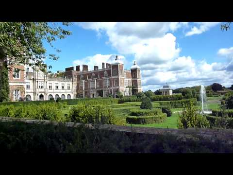 Hatfield House, Hertfordshire, England. Classic English Stately House